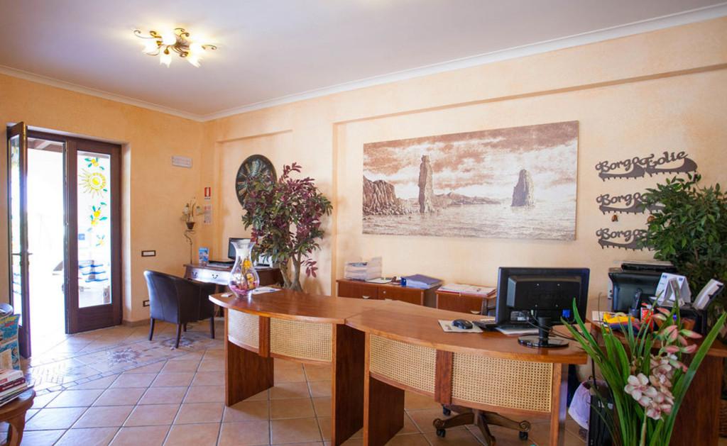Reception  U2013 Borgo Eolie Hotel Lipari
